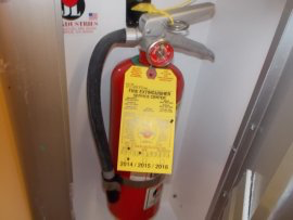 Install Fire Suppression System